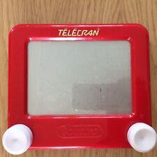 LE TÉLÉCRAN  télé jouet vintage JOUSTRA / JOUSTRA VINTAGE toy tv set