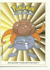 CARTE POKEMON : GLOOM - DUFLOR - ORTIDE / CARD STICKERS TO COLLECT NINTENDO