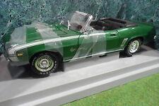 CHEVROLET CAMARO SS 396 Cabriolet vert 1/18 d AMERICAN MUSCLE ERTL 32008 voiture