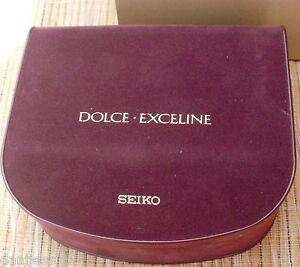 Seiko Dolce-Exceline Watch Box