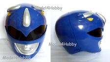 Cosplay Mighty Morphin Power Rangers BLUE Life-size Helmet Action Hero Halloween