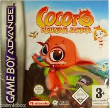 COCOTO Platform Jumper jeu video pour console Game Boy Advance Nintendo DS NEUF