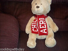 2011 LIMITED EDITION AEROPOSTALE CHILL BEAR PLUSH DOLL FIGURE NO LONGER SOLD