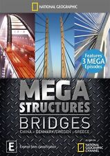 National Geographic - Megastructures - Bridges (DVD, 2012) Region 4  New