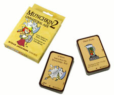 Munchkin 2: Unnatural Axe Card Game Expansion Steve Jackson Games SJG 1410