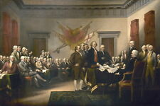 13x19 Poster: Signing of the Declaration of Independence - July 4, 1776
