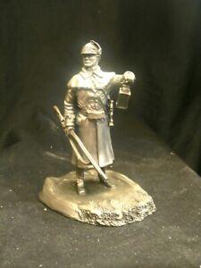 Franklin Mint Pewter figure.Dover Light Infantry Delaware. American Revolution