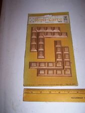 1970 Original Furniture Decorative TRIM Molding Parts Pieces - Corner - #13