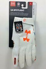 $50 Under Armour Spotlight Limited Edition Texas Football Glue Grip Gloves Sz Xl
