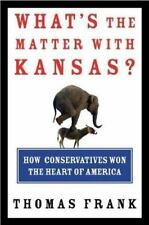 THOMAS FRANK WHAT'S THE MATTER WITH KANSAS THE BAFFLER HARDCOVER FIRST EDITION