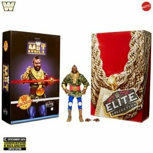 WWE Mr.T Elite Collection Action Figure 2020 Convention Excl. Mattel No Sticker