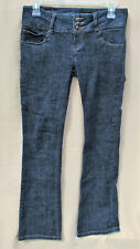 C'EST TOI JEANS HIGH WAIST SKINNY DENIM STRETCH 3 BUTTON