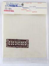 HO Scale Walkway Banister - Custom Railway Supply #212-1076