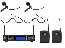 Lavalier Microphone Wireless  uhf professional Headset Condenser microphone