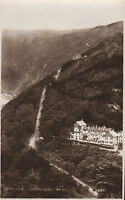 lynmouth countisbury hill - real photo from photocrom co