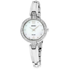 Seiko Core Mother Of Pearl Dial Stainless Steel Ladies Watch Sup287