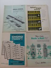 Spinet Organ Books Lot Of 4