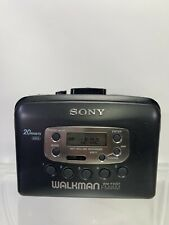 Sony WM-FX221 FM/AM Radio Cassette Walkman Tested Great Working Condition