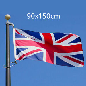 5X3FT Large Union Jack Flag Great Britain British GB Sport Olympics Support UK