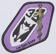 Luftwaffe Aufnäher Patch JaBoG 33 - TaktLwG 33 LWSanStff (Lila) ........A2545