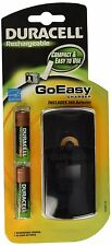 NEW Duracell Rechargeable GoEasy Charger Sealed in package 2 batteries CEF24NC