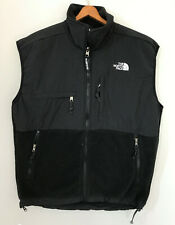 The NORTH FACE Denali Vest Black Fleece Polartec sz M Sleeveless Jacket Vintage