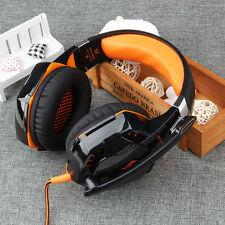 EACH G2000 Hifi Gaming Headset Stereo Headphone w/ Mic LED Light for PC Gamer