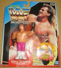 "OFFICIAL WWF WORLD WRESTLING FEDERATION BRUTUS ""THE BARBER"" BEEFCAKE HASBRO 1990"