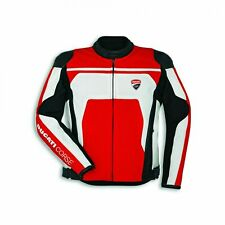 Ducati Speed C4 Genuine Sheepskin Leather Jacket Cafe Racer Retro For Men