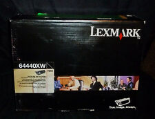 LEXMARK 64440XW EXTRA Hi Yield BLACK 32000 Pages T644 GENUINE NEW SEALED
