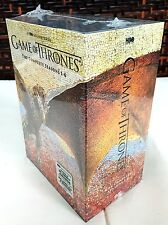 GAME OF THRONES:The Complete 1-6 Seasons 1 2 3 4 5 6 (DVD, 2016) DVD Box Set NEW