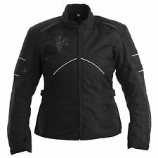 Rayven Juno Ladies Waterproof Motorbike Motorcycle Jacket CE Armour Touring