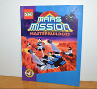 Vintage LEGO MARS MISSION MASTERBUILDERS Book Instructions Guide 2000 Space