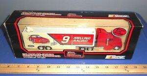 NASCAR  RACING TEAM  TRANSPORTER  [  FORD ]  1/64   DIE-CAST  NIB