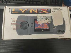 Atari Lynx in OVP mit 3 Spiele