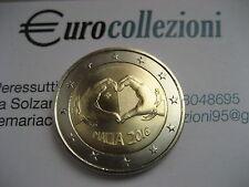 MALTA 2016 2 EURO FDC UNC AMORE MALTE МАЛЬТА 马耳他