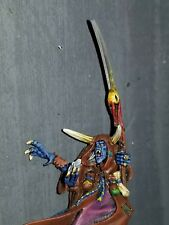 Warhammer Limited Edition Chaos Sorcerer Age of sigmar Metal Painted v well OOP