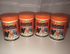 (4) Tetra Goldfish Vitamin C Enriched Flakes 1 oz Exp 9/21 And 10/21