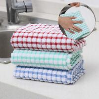 le coton matériel de cuisine torchon de lavage handtowel chiffons torchons