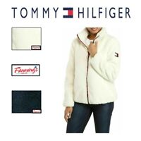 NEW! Tommy Hilfiger Women's Faux Fur Sherpa Full Zip Jacket VARIETY SZ/CLR - D33