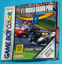 F-1 World Grand Prix 2 II - Game Boy Color GB GBC Nintendo - PAL