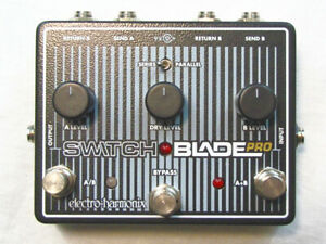 Used EHX Electro-Harmonix Switchblade Pro Deluxe Switcher Pedal Switch Blade