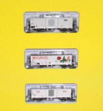 Brawa 67100 N - Kühlwagen- Set 3-teilig der SBB NEU & OVP