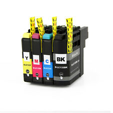 4 for Brother LC133 XL Compatible Ink Cartridge MFC-J4410DW MFC-J4510DW Printer