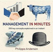 NEW Management in Minutes by Philippa Anderson