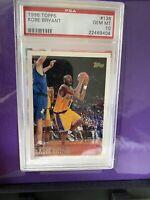 "1996-97 Topps Kobe Bryant #138 Rookie HOF Lakers ""PSA 10 GEM MINT "" INVEST🔥📈!!"