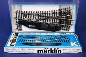 Marklin HO Manual K Type Switch Track Set 2264 / 419H