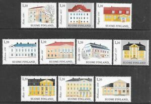 FINLAND - 1982.  Manor Houses - Set of 10, MNH