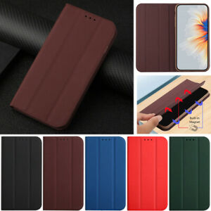 Ultra-thin Leather Flip Cover Case For Oppo A52 A72 A9 2020 Realme Narzo 20 Pro