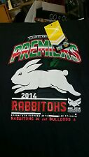 South Sydney Rabbitohs 2014 NRL Premiers Team T Shirt SZ XL, Football, Jersey